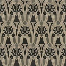 Cremini Floral Drapery and Upholstery Fabric by S. Harris