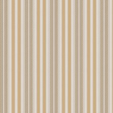 Gold Leaf Stripes Drapery and Upholstery Fabric by Fabricut