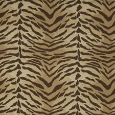 Umber Animal Drapery and Upholstery Fabric by Fabricut