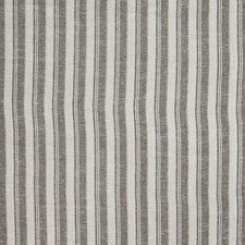Black Stripes Drapery and Upholstery Fabric by Fabricut