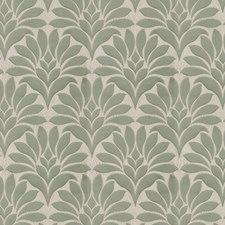 Jade Damask Drapery and Upholstery Fabric by Fabricut