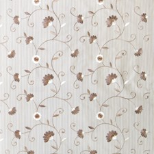 Beige Embroidery Drapery and Upholstery Fabric by Fabricut