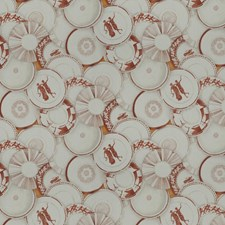 Red Pepper Global Drapery and Upholstery Fabric by Vervain