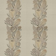 Prairie Embroidery Drapery and Upholstery Fabric by Vervain