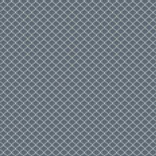 Sodlite Blue Small Scale Woven Drapery and Upholstery Fabric by Vervain