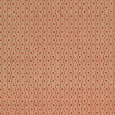 Brick Geometric Drapery and Upholstery Fabric by Vervain