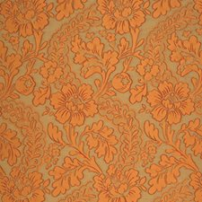 Sienna Floral Drapery and Upholstery Fabric by Vervain
