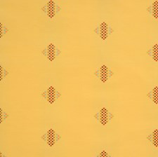 Daisy Geometric Drapery and Upholstery Fabric by Vervain