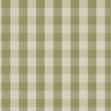 Celery Check Drapery and Upholstery Fabric by Vervain