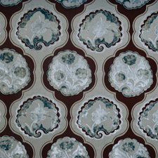 Bluemoon Floral Drapery and Upholstery Fabric by Vervain
