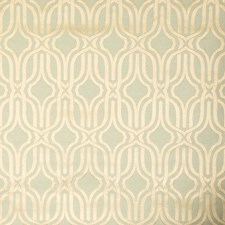 Aquaice Geometric Drapery and Upholstery Fabric by Vervain