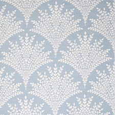 Summer Sky Leaves Drapery and Upholstery Fabric by Stroheim