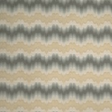 Harbor Grey Flamestitch Drapery and Upholstery Fabric by Stroheim