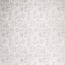 Harbor Gray Floral Drapery and Upholstery Fabric by Stroheim