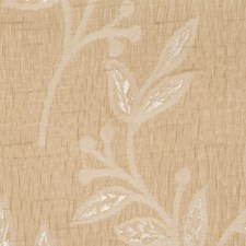 Linen Leaves Drapery and Upholstery Fabric by Trend