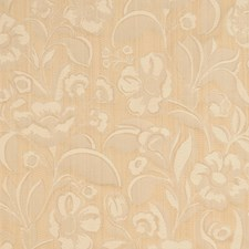 Butter Floral Drapery and Upholstery Fabric by Trend