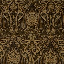 Jet Paisley Drapery and Upholstery Fabric by Trend