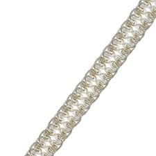 Silver Pearl Trim by Fabricut