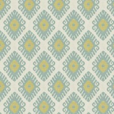 Pool Geometric Drapery and Upholstery Fabric by Trend