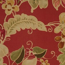 Geranium Drapery and Upholstery Fabric by RM Coco