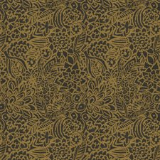 Bronze Floral Drapery and Upholstery Fabric by Fabricut