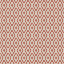 Coral Embroidery Drapery and Upholstery Fabric by Trend