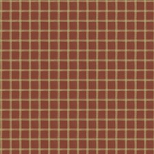 Rural Red Check Drapery and Upholstery Fabric by Fabricut