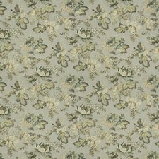 Silverpine Floral Drapery and Upholstery Fabric by Trend