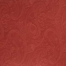Coral Paisley Drapery and Upholstery Fabric by Fabricut