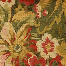 Green/red Drapery and Upholstery Fabric by Duralee