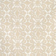 Sand Geometric Drapery and Upholstery Fabric by Duralee