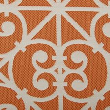 Orange Basketweave Drapery and Upholstery Fabric by Duralee
