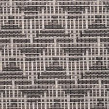 Charcoal Flame Stitch Drapery and Upholstery Fabric by Duralee