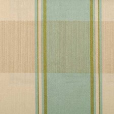 Aqua/Green Plaid Drapery and Upholstery Fabric by Duralee