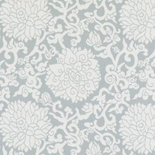 Mineral Floral Medium Drapery and Upholstery Fabric by Duralee
