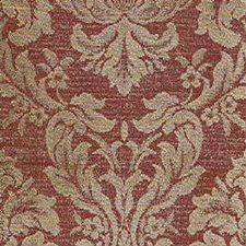 Burgundy/Red/Beige Damask Drapery and Upholstery Fabric by Kravet