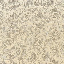 Antique Silver Drapery and Upholstery Fabric by Scalamandre
