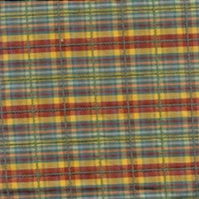 Green Plaid Drapery and Upholstery Fabric by Kravet