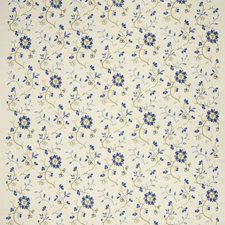 Bleu Embroidery Drapery and Upholstery Fabric by Fabricut