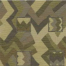 Green/Beige/Brown Modern Drapery and Upholstery Fabric by Kravet