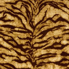 Golden Brown Drapery and Upholstery Fabric by Schumacher