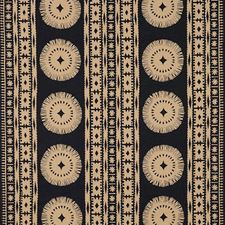 Lava Black Drapery and Upholstery Fabric by Schumacher