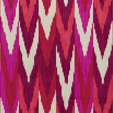 Ruby/Plum Drapery and Upholstery Fabric by Schumacher