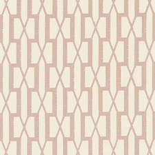 Temple Pink Drapery and Upholstery Fabric by Schumacher