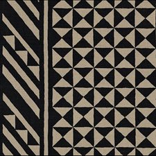 Black On Natural Drapery and Upholstery Fabric by Schumacher