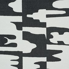 Black Drapery and Upholstery Fabric by Schumacher
