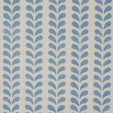 Blue Drapery and Upholstery Fabric by Schumacher