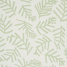 Sage Leaf Drapery and Upholstery Fabric by Schumacher
