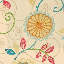 Springtime Drapery and Upholstery Fabric by Highland Court