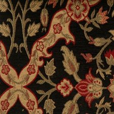 Black Tie Drapery and Upholstery Fabric by Highland Court